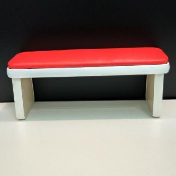Подставка для маникюра мягкая красная