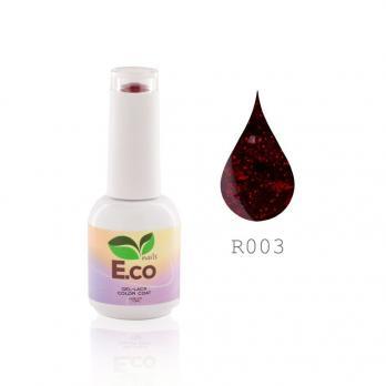 "R003 Гель-лак для ногтей E.Co Nails коллекция ""Ruby Fantasy"", 10мл."