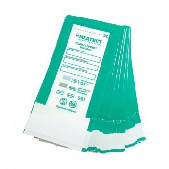 ПСПВ-СтериМаг  Пакет для паровой, воздушной, этиленоксидной, радиационной стерилизации комбинированный  самоклеящийся плоский   60*100 10 шт
