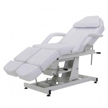 Педикюрное кресло электрическое Med-Mos ММКК-1 (КО-171.01Д) белое